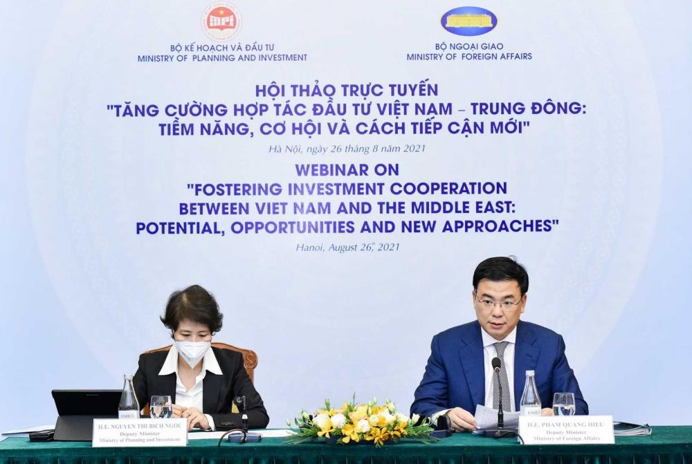 Tăng cường hợp tác đầu tư Việt Nam - Trung Đông: Tiềm năng, cơ hội và cách tiếp cận mới