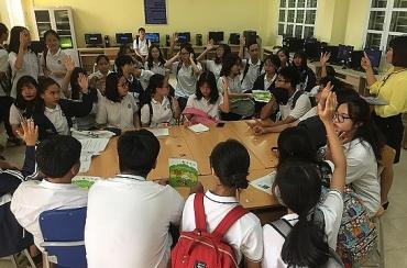 Giáo dục về rau an toàn tại các trường THPT Thành phố Hà Nội