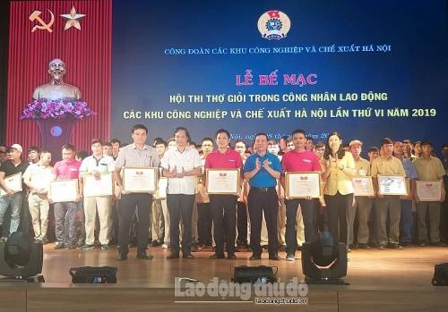Công ty TNHH Canon Việt Nam đạt giải Nhất tập thể