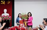Trao quyết định Phó Trưởng ban Thường trực Ban Dân vận Thành ủy cho đồng chí Phạm Hải Hoa