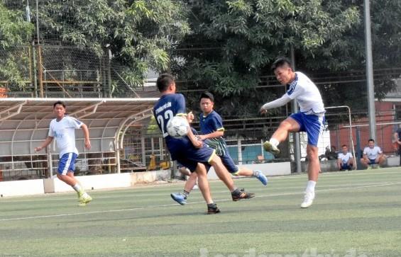 Khai mạc Giải bóng đá thanh niên và công nhân viên chức lao động quận Hà Đông năm 2019