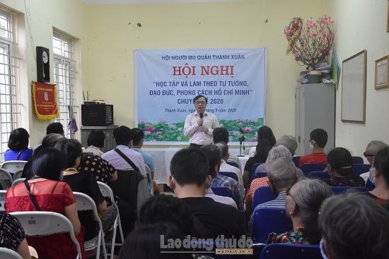 Lan tỏa tư tưởng, đạo đức, phong cách Hồ Chí Minh tới người khiếm thị