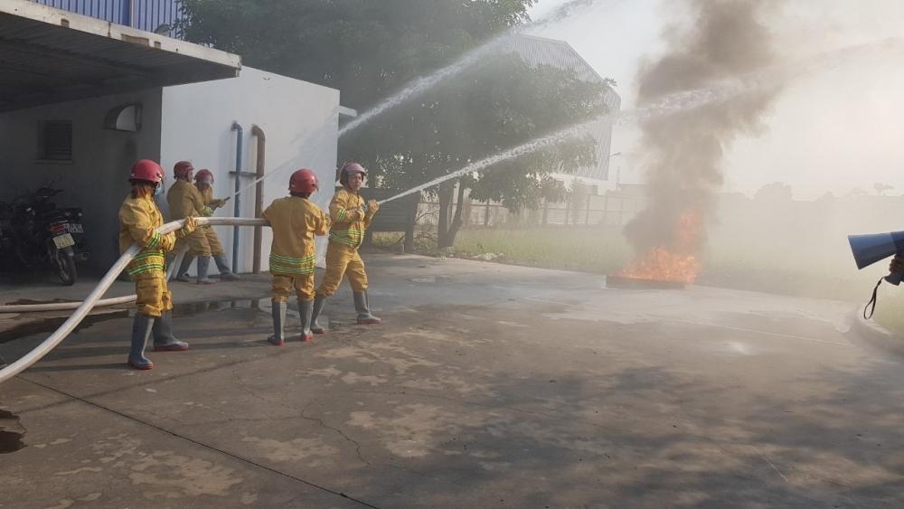 Công đoàn tham gia đảm bảo an toàn cháy nổ tại các khu công nghiệp