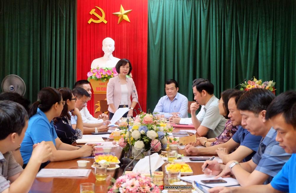 Tiếp tục nâng cao hiệu quả hoạt động của các cấp Công đoàn huyện Thường Tín