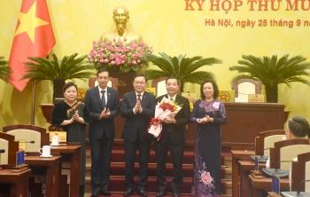 Đồng chí Chu Ngọc Anh được bầu làm Chủ tịch Ủy ban Nhân dân thành phố Hà Nội