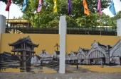 Ấn tượng về Hà Nội xưa qua những bức vẽ trên phố Phan Đình Phùng