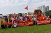Những hình ảnh ấn tượng tại lễ bế mạc Giải bóng đá CNVCLĐ và LLVT Cúp báo Lao động Thủ đô lần thứ IV năm 2018