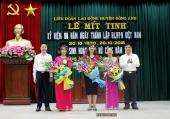 Mít tinh kỷ niệm 88 năm ngày thành lập Hội LHPN Việt Nam, sinh hoạt CLB nữ công 2018