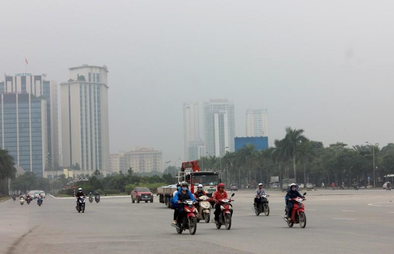 Hà Nội: 100% khu vực có chất lượng không khí tốt trong ngày cuối tuần