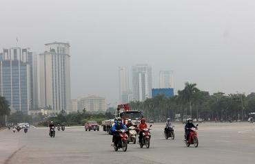 Chất lượng không khí Thủ đô sau Tết có xu hướng giảm
