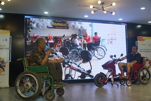 Chung tay cải thiện khả năng tiếp cận cho người khuyết tật