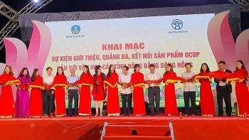 Quảng bá, kết nối sản phẩm OCOP các tỉnh đồng bằng sông Hồng