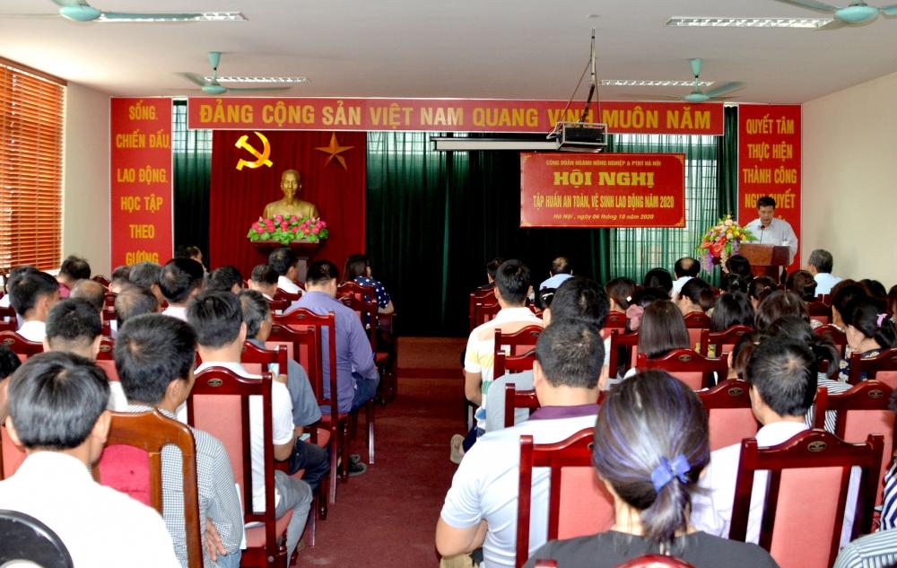 Tập huấn công tác an toàn vệ sinh lao động cho người lao động ngành Nông nghiệp