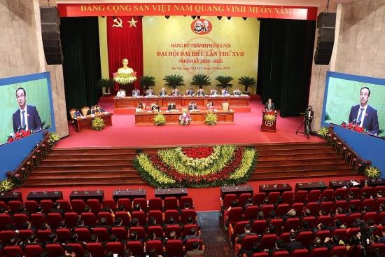 46 đồng chí tái cử Ban Chấp hành Đảng bộ thành phố Hà Nội khóa XVII