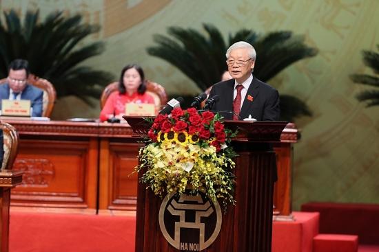 Tổng Bí thư, Chủ Tịch nước Nguyễn Phú Trọng: Kết quả đạt được của Đảng bộ Thủ đô là to lớn và quan trọng