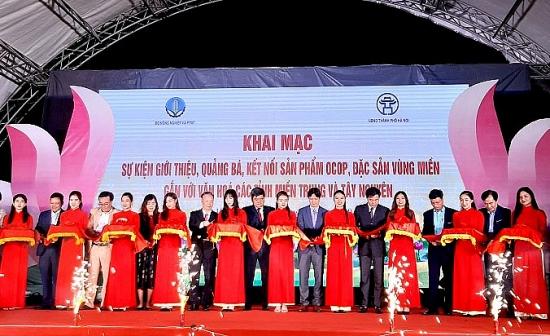 Khai mạc sự kiện giới thiệu, quảng bá sản phẩm OCOP các tỉnh miền Trung - Tây Nguyên