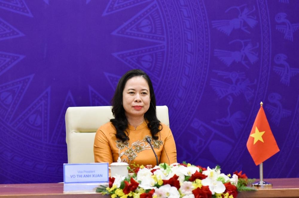 Phó Chủ tịch nước Võ Thị Ánh Xuân tham dự Diễn đàn Phụ nữ Á - Âu lần thứ III