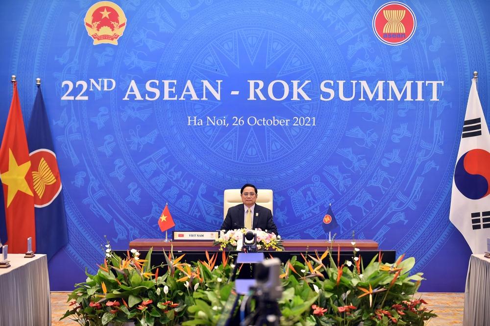 Thủ tướng Phạm Minh Chính: Quan hệ đối tác chiến lược ASEAN - Hàn Quốc tiếp tục phát triển tích cực trên nhiều mặt