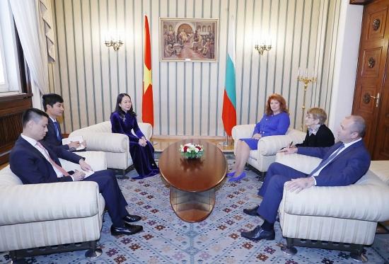 Phó Chủ tịch nước Võ Thị Ánh Xuân thăm chính thức Bun-ga-ri