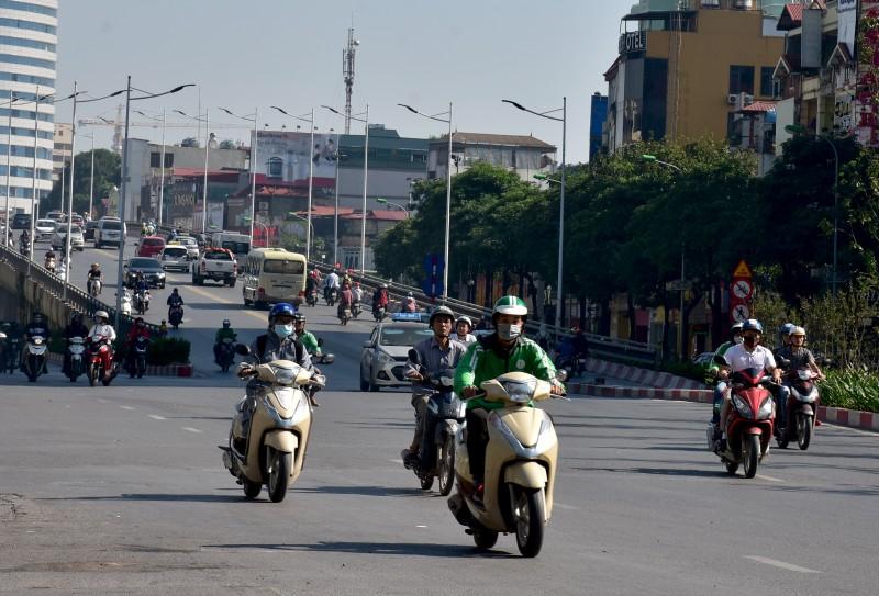 Hà Nội: Chất lượng không khí khu vực Kim Liên tốt nhất ngày