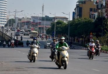 Hà Nội: AIQ khu vực Minh Khai kém nhất trong ngày