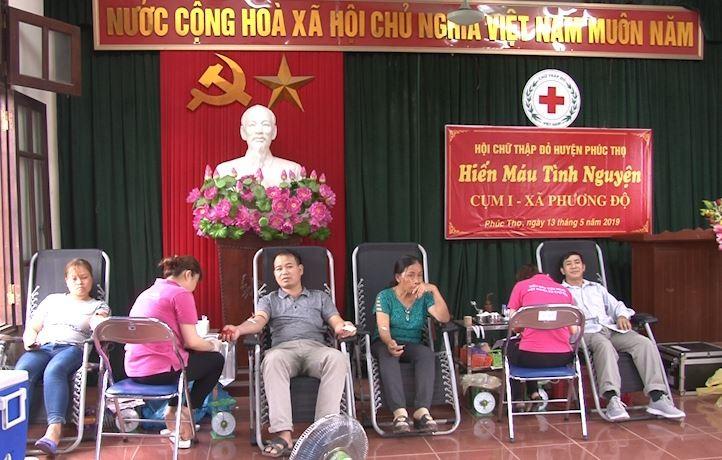 Phát huy vai trò nòng cốt trong hoạt động xã hội nhân đạo