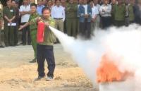 Nâng cao kỹ năng phòng cháy chữa cháy cho lực lượng dân phòng