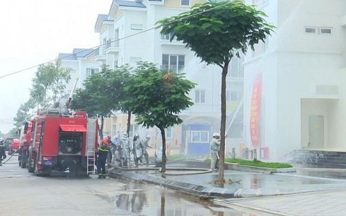 Tăng cường khả năng phối hợp trong công tác phòng cháy chữa cháy