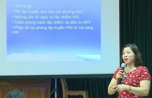 Nâng cao kiến thức phòng chống lây nhiễm HIV/AIDS