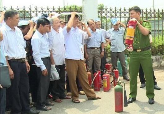 Tăng cường công tác đảm bảo an toàn phòng cháy chữa cháy