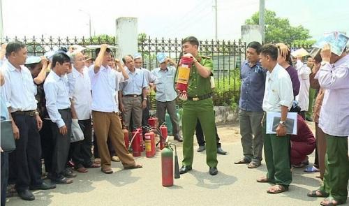 Nâng cao tính chủ động trong công tác phòng cháy chữa cháy