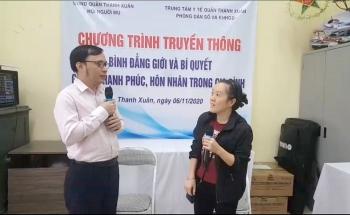 """Chất """"gia vị"""" mới trong hoạt động của Hội người mù quận Thanh Xuân"""