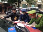 Xử phạt 17 trường hợp vi phạm giao thông và trật tự đô thị