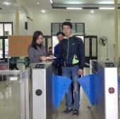 Ga Hà Nội chính thức  triển khai cổng soát vé tự động