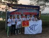 Giải bóng đá nam KCN Thăng Long lần thứ 14 thành công tốt đẹp
