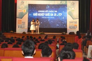 6 dự án so tài tại vòng Chung kết cuộc thi Khởi nghiệp Quốc gia 2017
