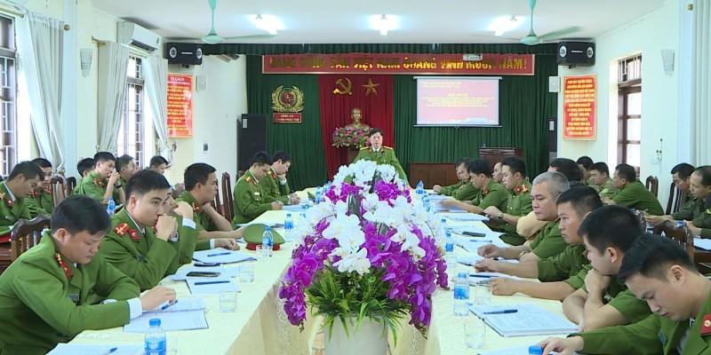 Triển khai kế hoạch đảm bảo an ninh trật tự dịp Tết Nguyên đán Kỷ Hợi năm 2019