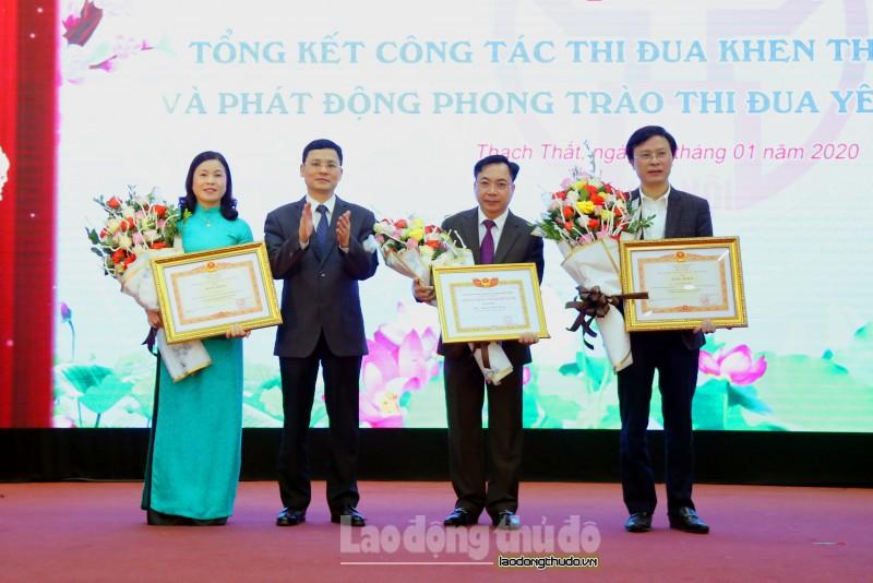 Huyện Thạch Thất phấn đấu đạt tăng trưởng kinh tế 15,2% trong năm 2020