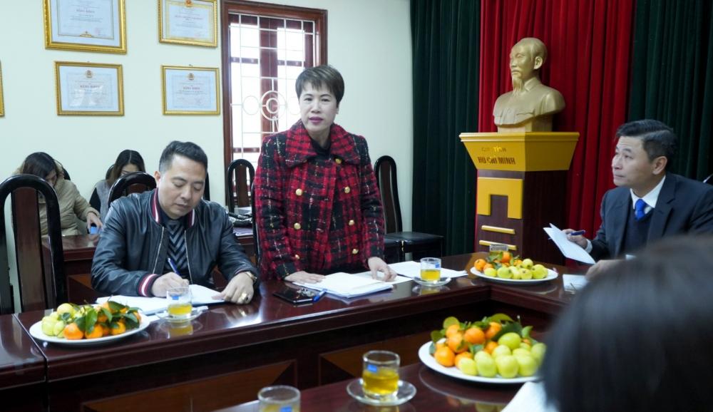 Chủ tịch Liên đoàn Lao động Thành phố Nguyễn Phi Thường thăm và làm việc với báo Lao động Thủ đô
