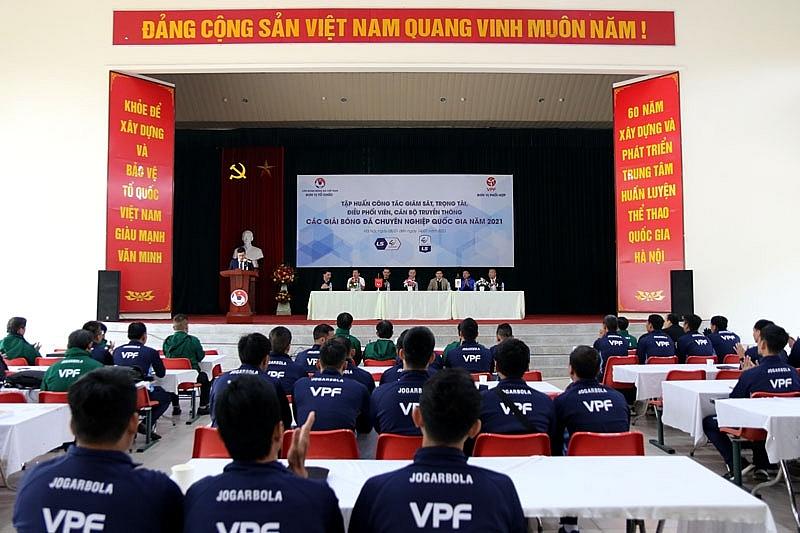 Lực lượng giám sát, trọng tài sẵn sàng cho mùa giải mới 2021