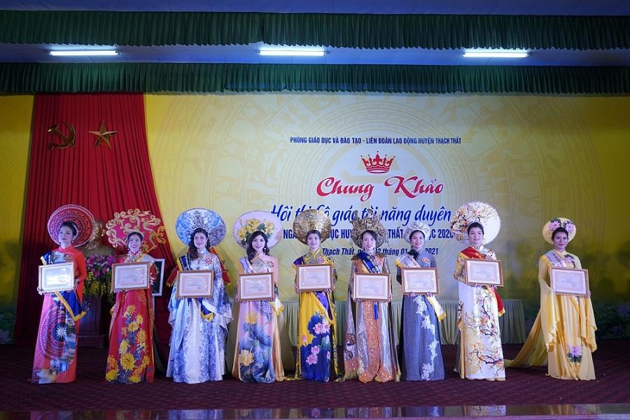 Hội thi cô giáo tài năng duyên dáng huyện Thạch Thất