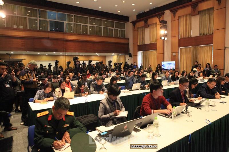 Gần 3000 phóng viên quốc tế tác nghiệp tại Hà Nội