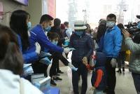 10.000 khẩu trang được Thành đoàn Hà Nội phát miễn phí cho người dân