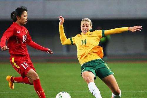 australia hon da tang tren duong toi olympic 2020 cua tuyen nu viet nam