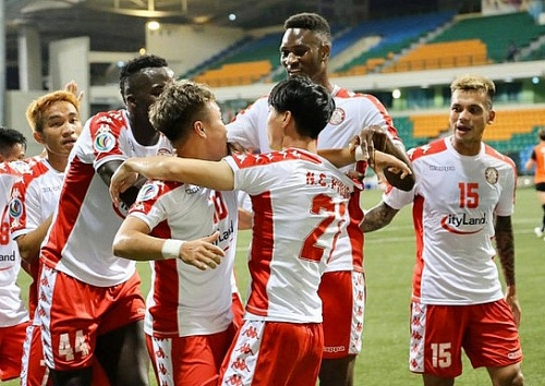 Hougang United 2-3 TP.HCM: Điểm sáng mang tên Công Phượng - Phi Sơn