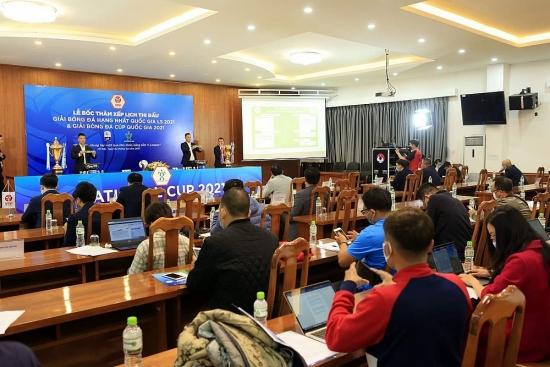 Giải Hạng Nhất và Cúp Quốc gia 2021 dự kiến khởi tranh từ 20/3 và 9/4