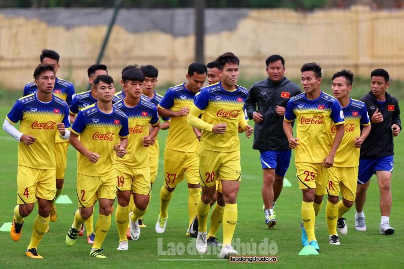 U23 Việt Nam thiếu vắng nhiều trụ cột trong ngày đầu tập trung