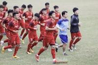 U23 Việt Nam tập trung tổng lực luyện tập cho vòng loại U23 châu Á 2020