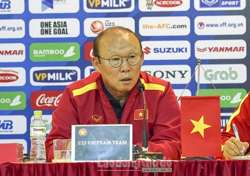 HLV Park Hang Seo chỉ ra 3 khó khăn của U23 Việt Nam