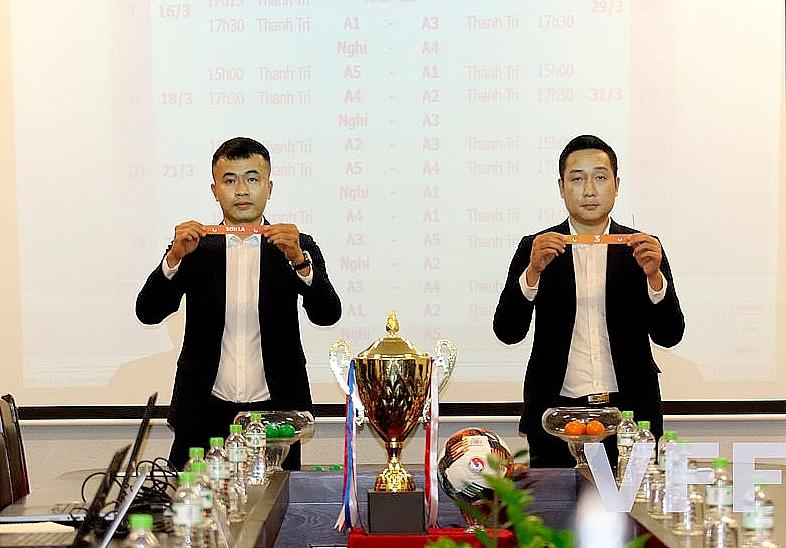 Giải bóng đá nữ Vô địch U19 Quốc gia 2021: Phong Phú Hà Nam và Sơn La đá trận mở màn